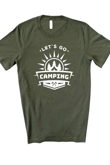Picture of Let's Go Camping Graphic Tee