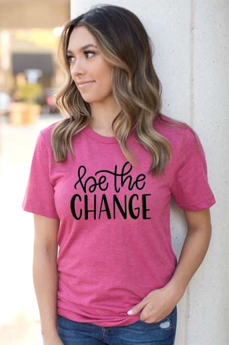 Picture of Be The Change Graphic Tee